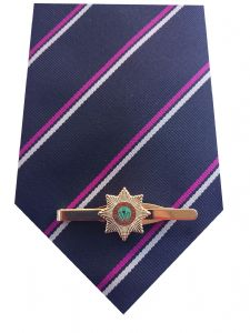Cheshire Regiment Tie & Tie Clip Set e077